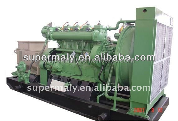 CE BV Approved Biogas engine generator