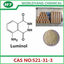 3-Aminophthalhydrazide reagentes químicos <span class=keywords><strong>Luminol</strong></span> CAS 521 - 31 - 3