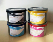 Factory supply dye sublimation textile ink , good fluency textile ink for offset printing