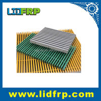 frp pultruded grating pass ASTM E-84 high quality /FRP grille 40mm*40mm*thickness 13mm