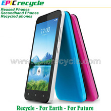 2017 cheap recycled phone used mobile phone with 1 year warranty