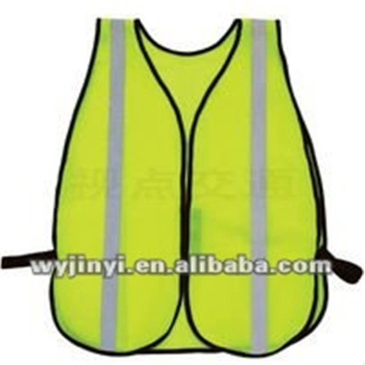 100%polyester breathable mesh cheap reflective safety vest