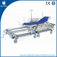 BT-TR003 China manufacturer CE ISO hospital emergency room hospital patient transfer connecting bed