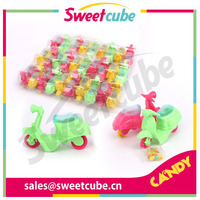 Motorcyle With Colourful Candy
