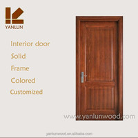 latest house furniture cheapest country style finished solid teak wood door design