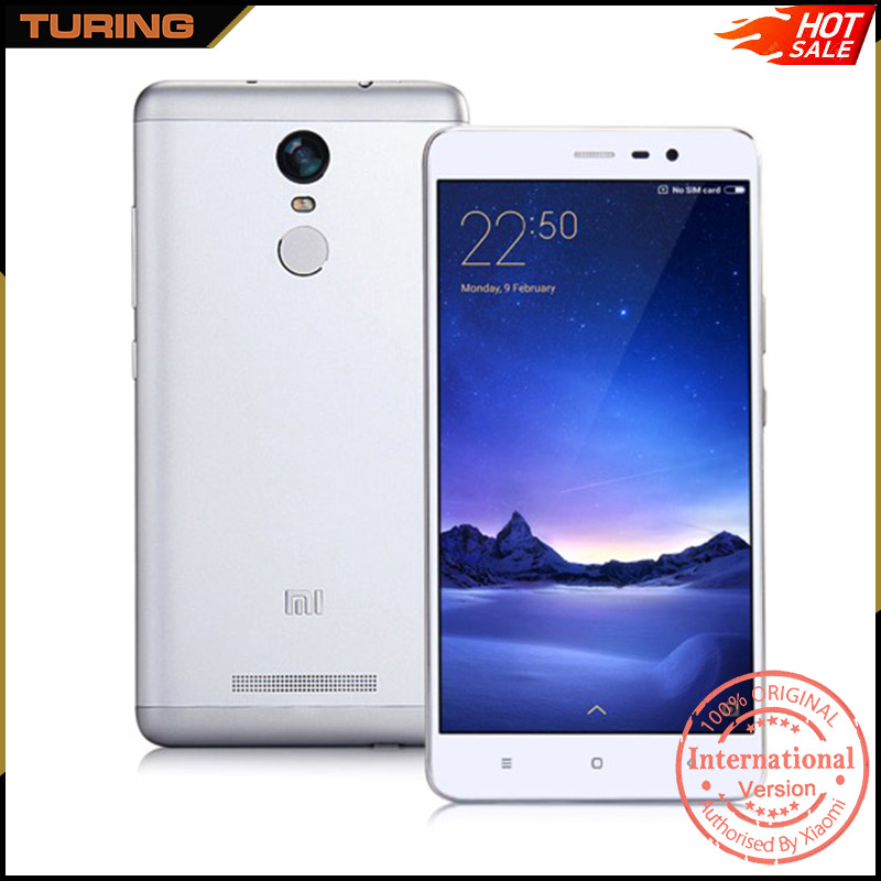 Xiaomi Redmi Note 3 Red Mi Note3 Very Slim Feature Big Letters Cell Suporte Para Celular Phone 2GB 16GB or 3GB 32GB Android