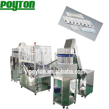 auto syringe assembly production line