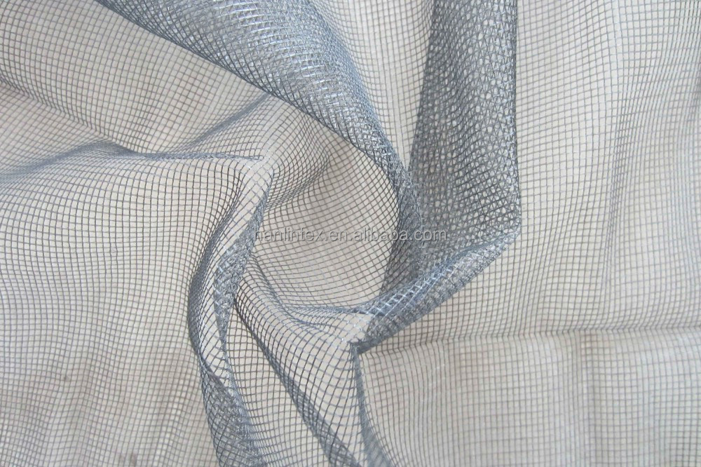hot sale polyester mosquito net fabric for stop insect curtain and window screen