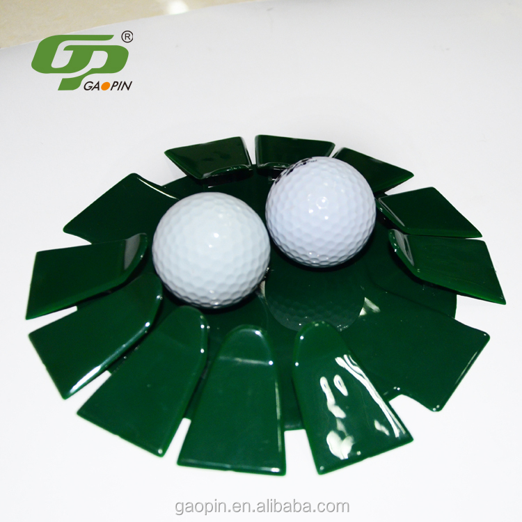 Trade assurance Cheap plastic golf putting green practice cup