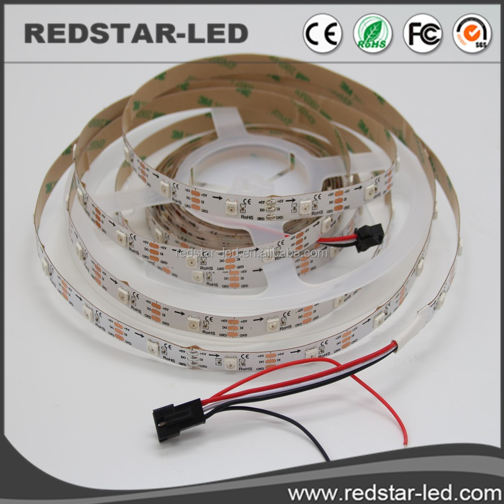 ws2812b digital led strip tutorial by WS2812B/2811/TM1812/LPD6803/LPD8806/apa102/104