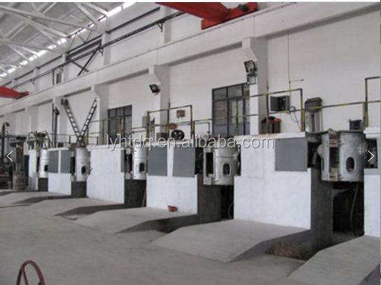 Discount universal aluminum shell induction melting furnace for casting iron and rolling steel industry
