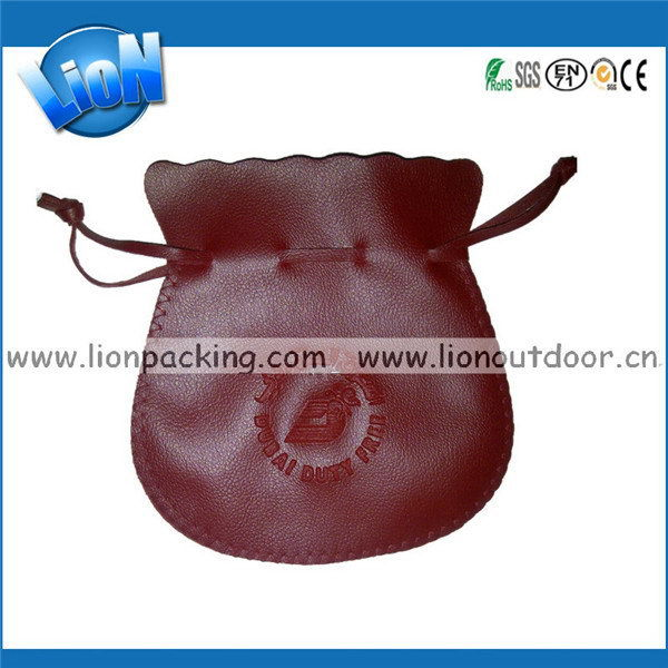 High quality new coming stand leather pouch case