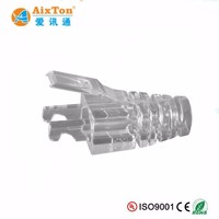 Cat6 RJ45 strain relief boots For RJ45 Modular Plug