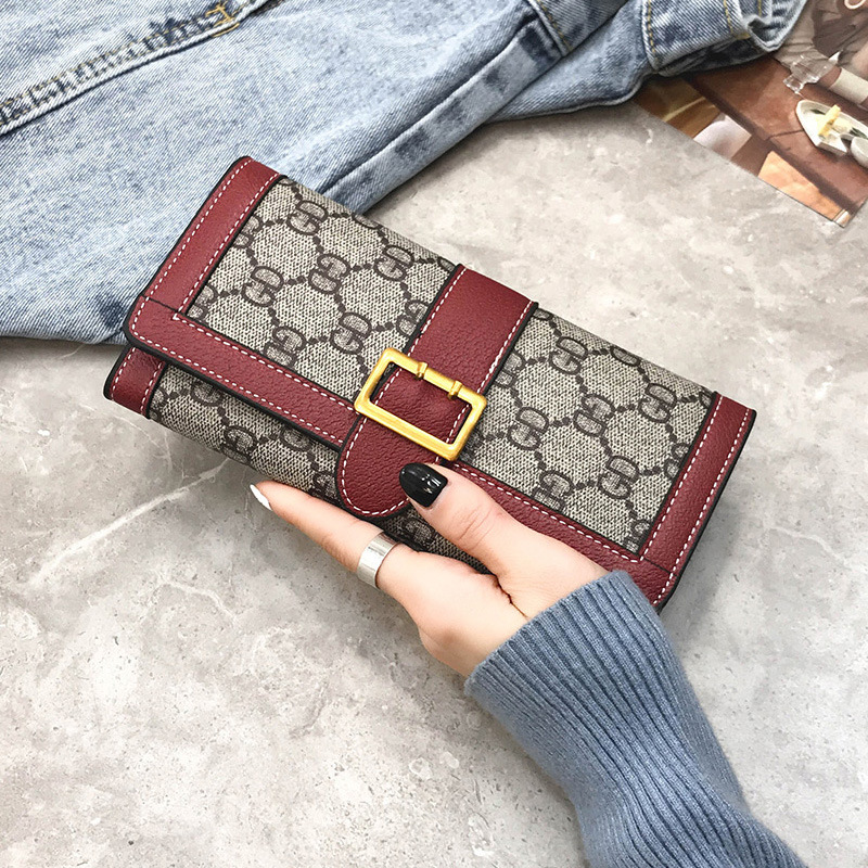 2019 New Arrival Women Brand Fashion Long Style <strong>Wallet</strong> For Ladies