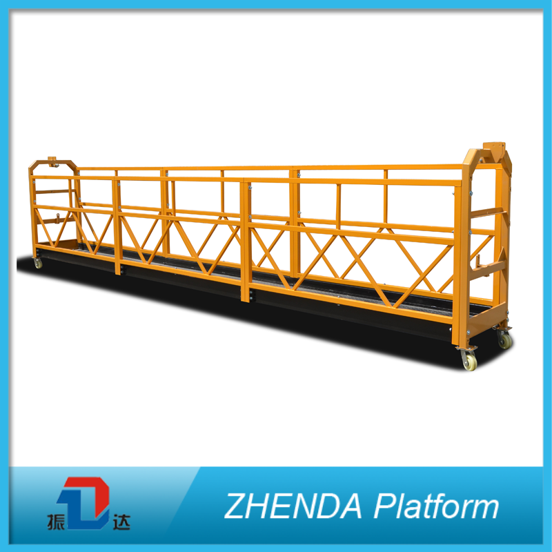 Zlp800 Facade Access Zlp Lifting Suspended Platform for Window Fabrication