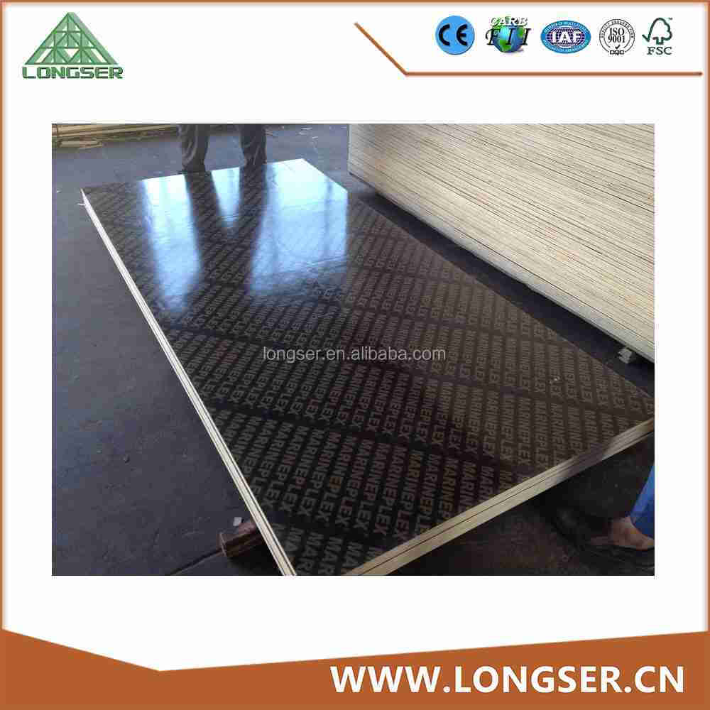 18mm black film faced plywood panel for concrete