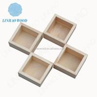 2014 Customized Wooden Spices Box / Condiment Wooden Box / Wooden Seasoning Box