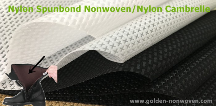 Cross style nylon spun bonded non woven bag material/nylon raw material price per kg