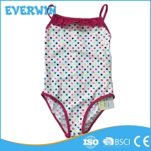 Blank Dot School Halter Custom Swimsuit