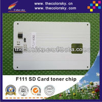 (CZ-RF111) compatible toner cartridge reset chip for Ricoh Nashuatec F111 F 111 SD card bk 4K