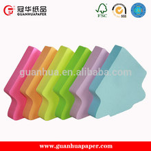 Ecofriendly Writing Memo Pad House Shaped Sticky Note Pad