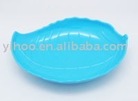 Plastic Fruit Tray, Leaf Shaped Tray