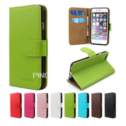 Hot selling card slot crystal grain pu leather case for wiko tommy