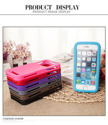 "New fashion high quality shockproof Silicon Universal cover for 4.5"" 5.0"" 5.5""cell phone"