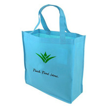 Wholesale price promotional reusable pp non-woven shopping tote bag
