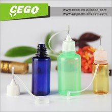 PE Plastic Type and Dropper Sealing Type tattoo paint bottle