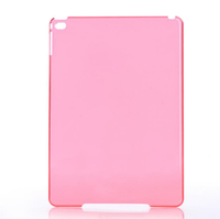2015 Hot Cheap Product Crystal Clear Pc Hard Case For ipad Air 2