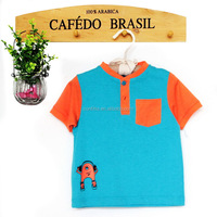 HIGH QUALITY COTTON BABY O NECK SHIRTS FOR SUMMER