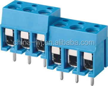 WANJIE Pin Header PCB Type Terminal Block Connector(WJ305-5.0/10.0)