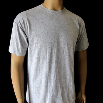 Create your own t shirt in oem service of grey color for Design and buy your own shirt