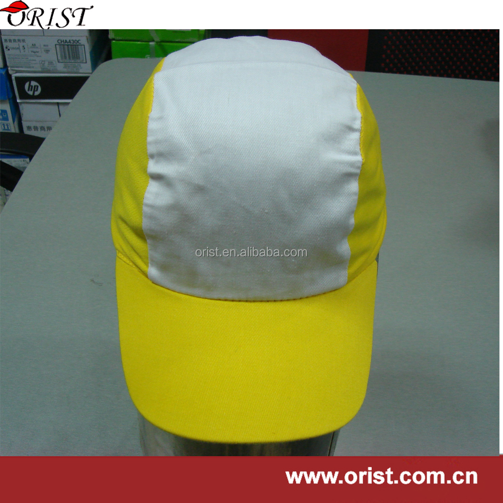 cheaper cotton 3 panel cap with customed logo