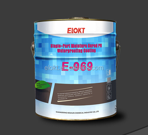 Single Component 2k Polyurethane Waterproof Paint