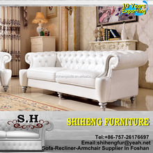Hotel Suite Italian Luxury Design Antique White Hotel Sofa Suite XY-C28A