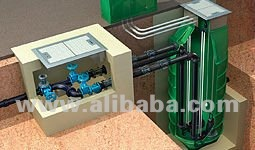 Complete Packaged ESP Waste Water Pump Station