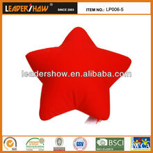 Star shaped beads filled lovely star shape cushion