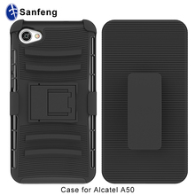 50 pcs MOQ mobile case for Alactel A50, heavy duty phone case for Alcatel Pulsemix