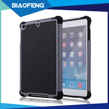 3in1 soft silicone rubber tablet case for ipad mini2 pc tpu cover 7.9 inch perfect protective