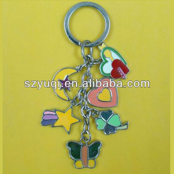 Make multifunction tool multi ring keychain