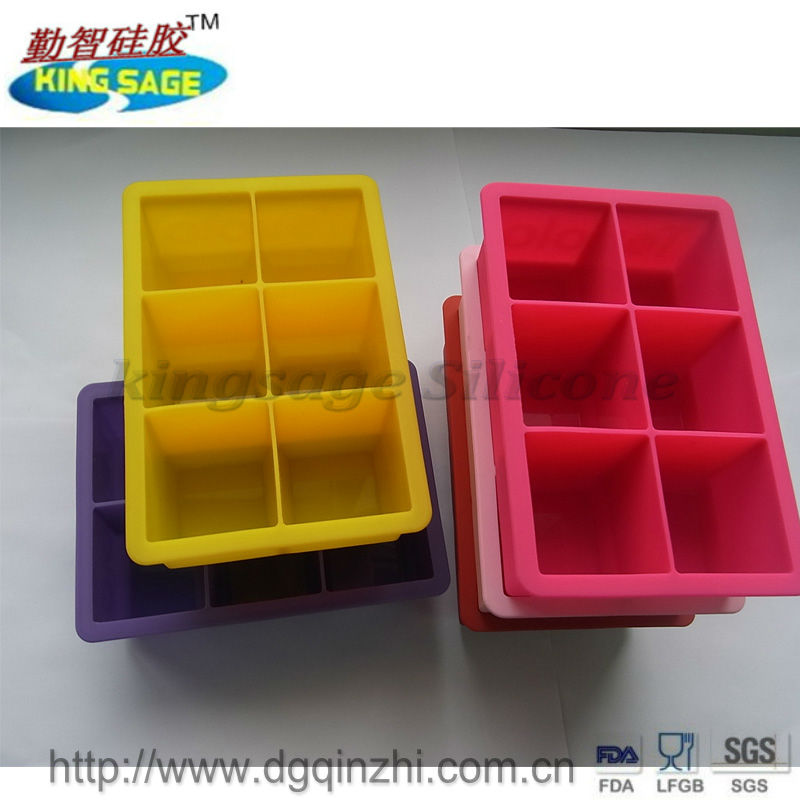 custom design silicone ice tray mould