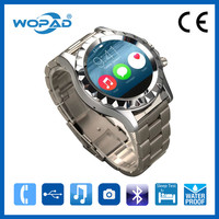Stainless Steel Body Watch Mobile U8 Phone Free Movies Mobile Phone