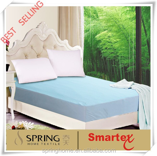 Cool smooth bamboo Mattress Protector mattress cover