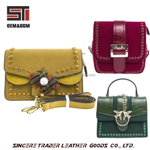 Fashion Designer Pu Leather Material Women Handbags Wholesale 17SH-6541D