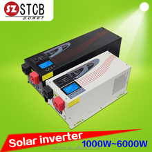 Off grid solar inverter 1000w 2000w 3000w 4000w 5000w 6000w with ac charger