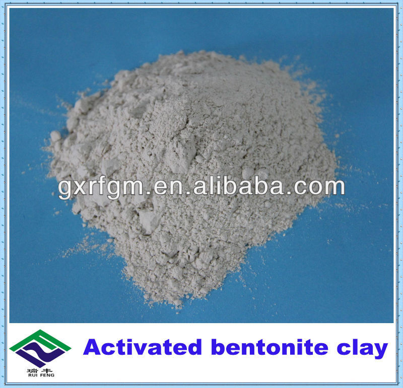 Activated bentonite clay for edible oil refining/recyling