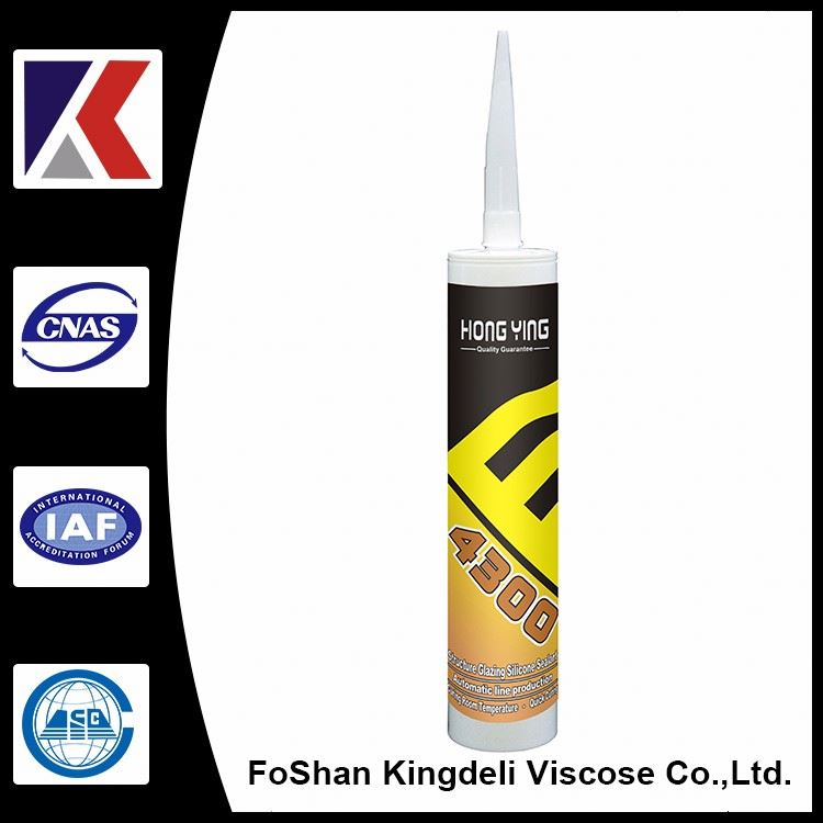 Shelf-stable transparent mirror silicone sealant