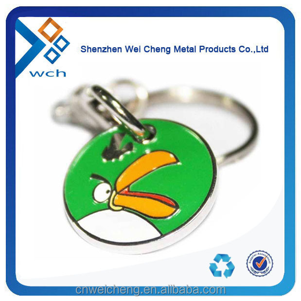 Supermarket Shopping cart trolley coin keychain
